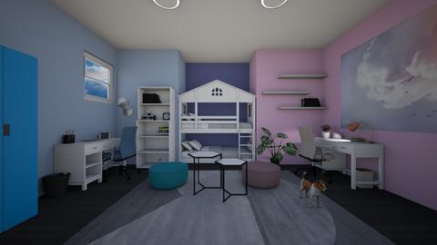 twins room - Office - by Muneesssssss