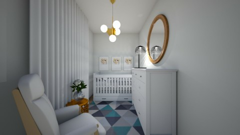 Nursery - Modern - Kids room  - by FOXYOXIE