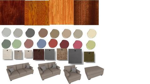 Neutral livinroom palette - by MiracleDesigns