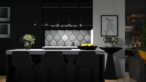 562 - Modern - Kitchen  - by Claudia Correia