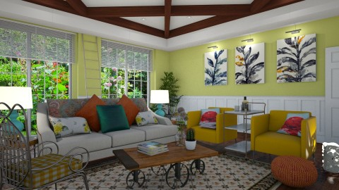 Colourfull Livin - Eclectic - Living room  - by soniagoncalves