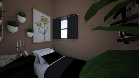 dorm room 3 - Vintage - by lennebendien