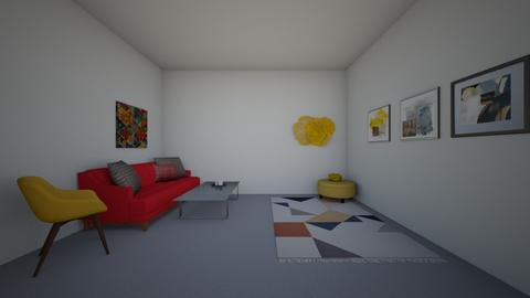 Colourful - Living room  - by ZolaKate