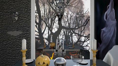 halloween - by Ana Quintero