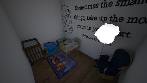 Winnie the Pooh Nursery - Modern - Kids room  - by bsfoote