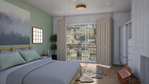 Feng shui - Modern - Bedroom  - by augustmoon