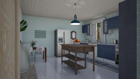 bk - Retro - Kitchen  - by steker2344