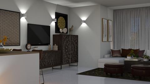 Lisbon - Living room - by Claudia Correia