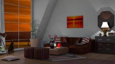 big windows - Living room  - by nat mi