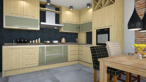 develop4 - Kitchen  - by ewcia3666