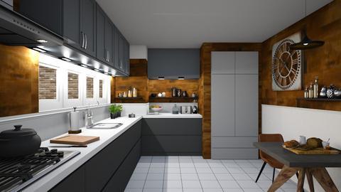 Coimbra - Modern - Kitchen  - by kantorjanos
