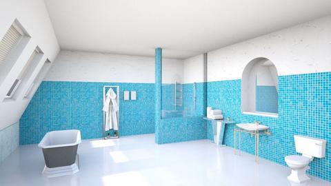 Art Deco bathroom - Bathroom  - by shelleycanuck