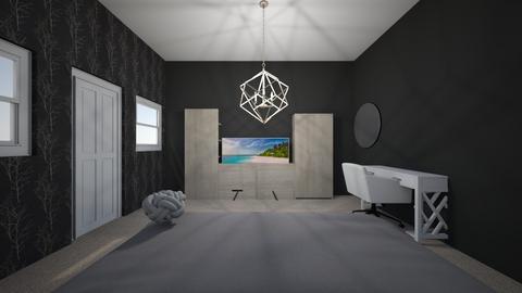 room - Modern - Bedroom - by Mkana24