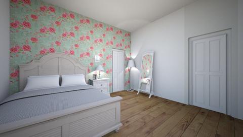 floral bedroom 2 - Bedroom  - by SadieRose