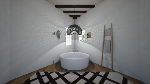 BAGNO TRIANGOLARE - Modern - Bathroom  - by Juliette J
