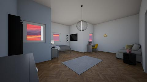for Amy Robberts - Modern - Bedroom  - by KathyScott
