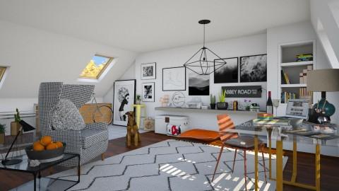Attic - Modern - Office  - by katarina_petakovi