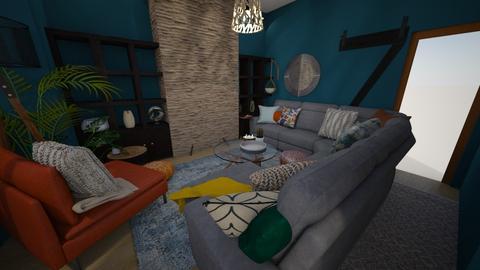 The Gaff  - Minimal - Living room  - by elisek1200