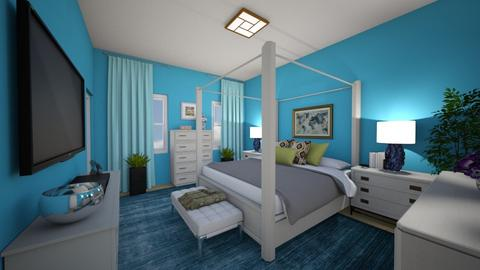 Urban Luxury - Modern - Bedroom  - by almecor2311