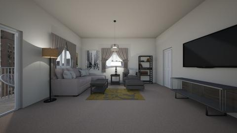 Compact Pentouse - Living room  - by mspence03
