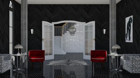 667 Dark Avenue - Living room  - by lovedae_parfait