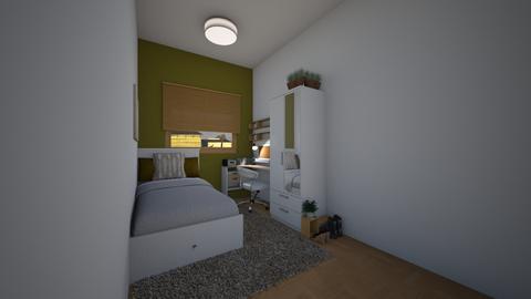 dorm room - Bedroom  - by ttiavlc