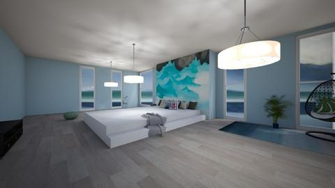 Okeeffe ocean bedroom - Bedroom - by Meg_