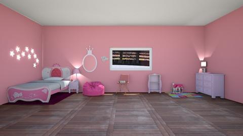 Princess Bedroom - by designgirl59