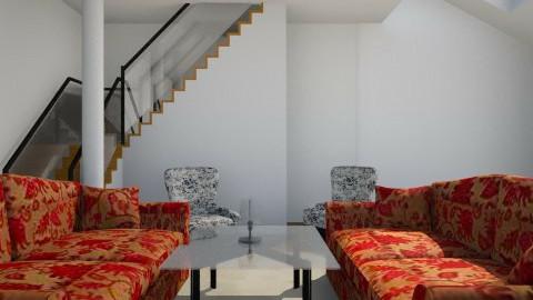 velvet family room - Classic - Living room - by tello