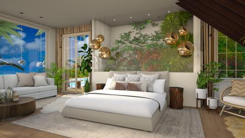 Urban Jungle Bedroom - Bedroom - by Vlad Silviu
