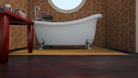 Safari - Minimal - Bathroom  - by Angela Quintieri