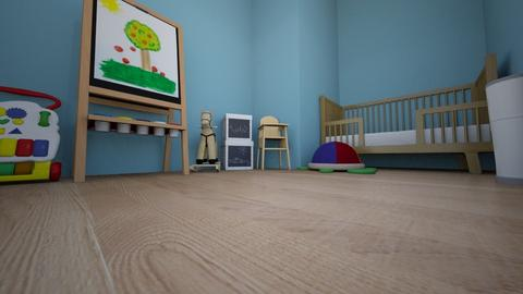 Tomas toddler room - Classic - Kids room  - by NoNo TONY