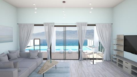 malibu living room - Modern - Living room  - by rcrites457