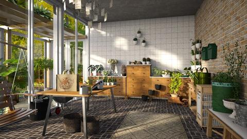 plant shop - Rustic - Garden  - by jjannnii