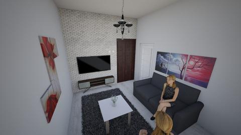 dewed - Living room  - by filozof