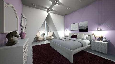 quarto - Eclectic - Bedroom  - by kelly lucena