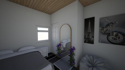 Simple bedroom - Bedroom  - by IEatKids