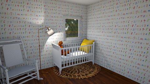 Surprise Baby Nursery - Kids room  - by Cool Coder Girl