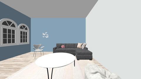Modern pastel - Living room  - by lmyrmo26