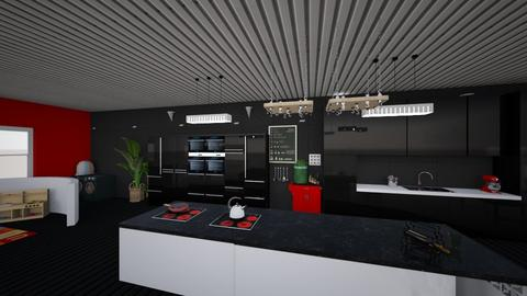 Grand Kitchen - Kitchen  - by TianyAse369