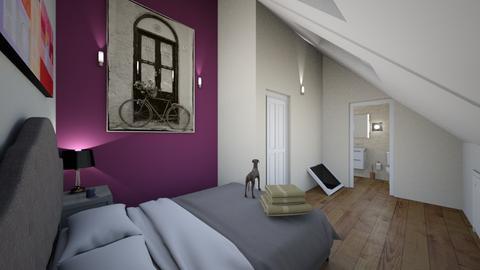 Loft Alt - Modern - Bedroom  - by robbyduffy