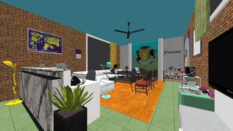 Embassy reception - Office  - by PAPIdesigns