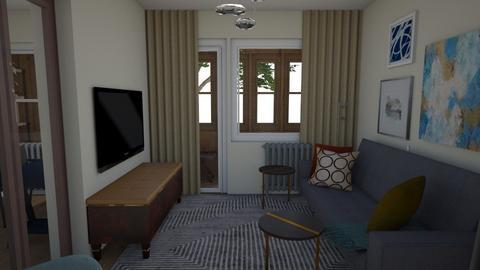 11Apr - Living room  - by Julia Nick