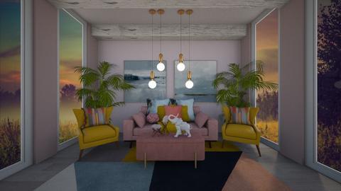 sunroom - Living room  - by belle alderton