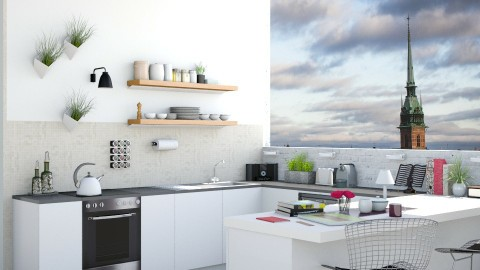 Apartment - Kitchen - by Plan Be