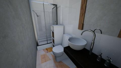 condo 2_1 - Modern - Bathroom - by edjsueno
