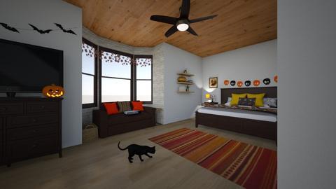 Fall Bedroom - Rustic - Bedroom  - by carleeclear