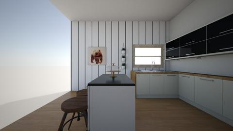 cutie  kitchen - Kitchen  - by lylaw