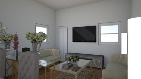 Tin living room - Minimal - Living room  - by kristine07