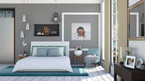 Modern Bedroom_Zoom - Modern - Bedroom  - by ayudewi